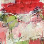 J.Keith Red Rocks Wychwood Art 2mb  Abstract, dramatic, Expressionist, paper, large, atmosphere, desert,red -ef587622