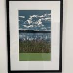 Jennifer Jokhoo Skies know no borders framed white background Wychwood art -07135387
