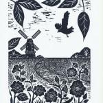 Joanna Padfield Norfolk Broads Marsh Harrier Wychwood Art-ad24cc8c