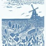 Joanna Padfield cley windmill Wychwood art-7884e2fa