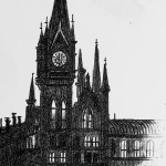 London King's Cross Lithograph 61 x 46 cm (24 x 18 inch) detail 4 Wychwood Art-74665635