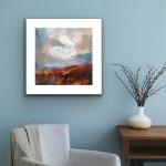 Luisa Holden Autumn Moor Study Insitu Wychwood Art-82a3de6b