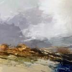 Luisa Holden Lavender Grey Sky Mixed Media Wychwood Art-784424a6