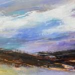 Luisa Holden Purple Moorland Panorama Wychwood Art-724fd928