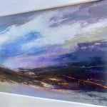 Luisa Holden Purple Moorland Panorama side view Wychwood Art-2834ff79