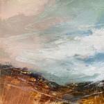 Luisa Holden Windswept Moorland with Pink Wychwood Art-fde27e5c