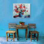 Mary Chaplin from the Normandy meadow in situ 3 Wychwood Art -653b0e8a