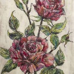 Vicky-Oldfield-GardenRoses-original work on paper-contemporary art-c701ad66