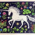 Kate Willows_Millefleurs Unicorn_Wychwood Art-a12586ee