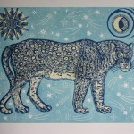 Kate Willows_Moon Panther (blue)_Wychwood Art-c7749f88