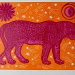 Kate Willows_Moon Panther (pink)_Wychwood Art-2c2892bb