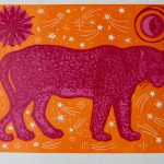 Kate Willows_Moon Panther (pink)_Wychwood Art-d1b17f11