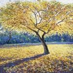 L Tiller – October in Dublin – and it was all yellow – wychwoodart-298f5127