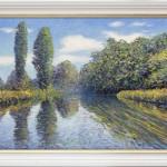 L Tiller – Summer – evocation Framed – wychwoodart-546ca2bf