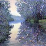 Lee Tiller – Twilight on the Thames –  wychwoodart-ef339915