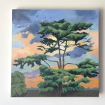 Margaret Crutchley Cedar of Lebanon at Sunset Wychwood Art 4-5faa5aa7