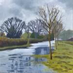 Margaret Crutchley The Flooded Path  Wychwood Art-ad50f911