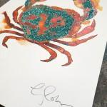 Mini crab 2, Gavin Dobson, screen print-ce37c44f