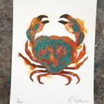 Mini crab 3, Gavin dobson, screen print-d715d76b