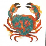 Mini crab 4, Gavin dobson, screen print-eb55b493