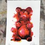 Mini gummy bear 4, Gavin Dobson, screen print-b3b19bd7