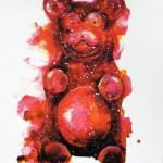 Mini gummy bear 5, Gavin Dobson, screen print-cc9301c1