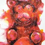 Mini gummy bear, Gavin Dobson, Screen print-8d54c786