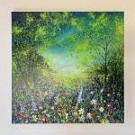 jan rogers colourful woodland with bluebells wychwood art white background-09545b0f